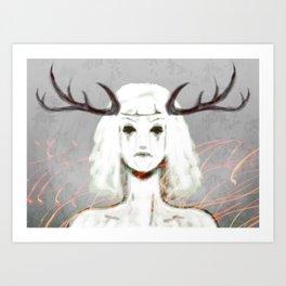 Forest Sprite Art Print