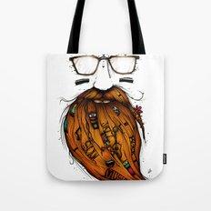 Beard Me Some Music (Color Version) Tote Bag