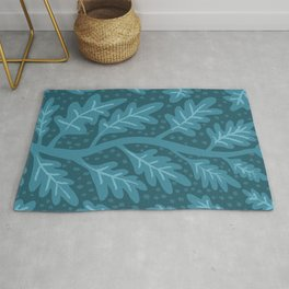 Lucious Leaves Rug