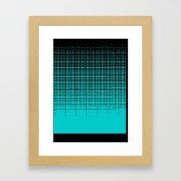 Colin Morgan Half-tone Framed Art Print