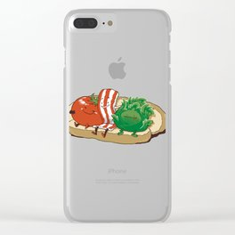BLT Together Forever Clear iPhone Case