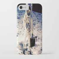 lawyer iPhone & iPod Cases featuring Astronaut lawyer  by rivercbishop