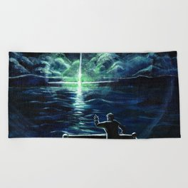 The Great Gatsby Beach Towel