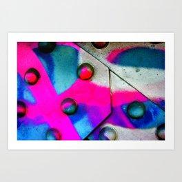 Neon Art Print