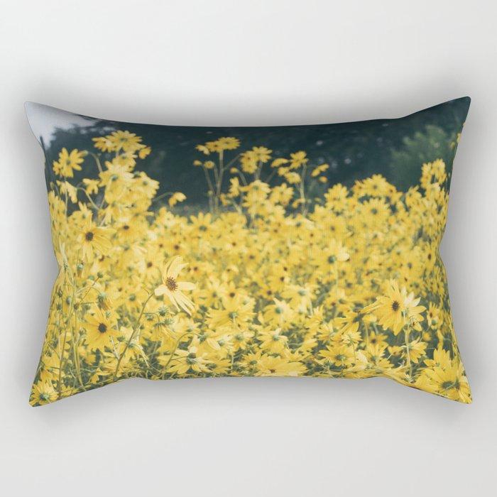 Daisies For Days Rectangular Pillow