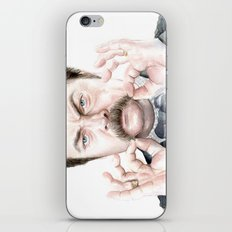 Swanson Mustache iPhone & iPod Skin