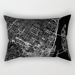 Mtl Map Rectangular Pillow