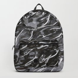 Tongues of fire, bound by ice. Backpack