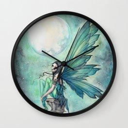 Winter Dream Fairy Fantasy Art Illustration Wall Clock