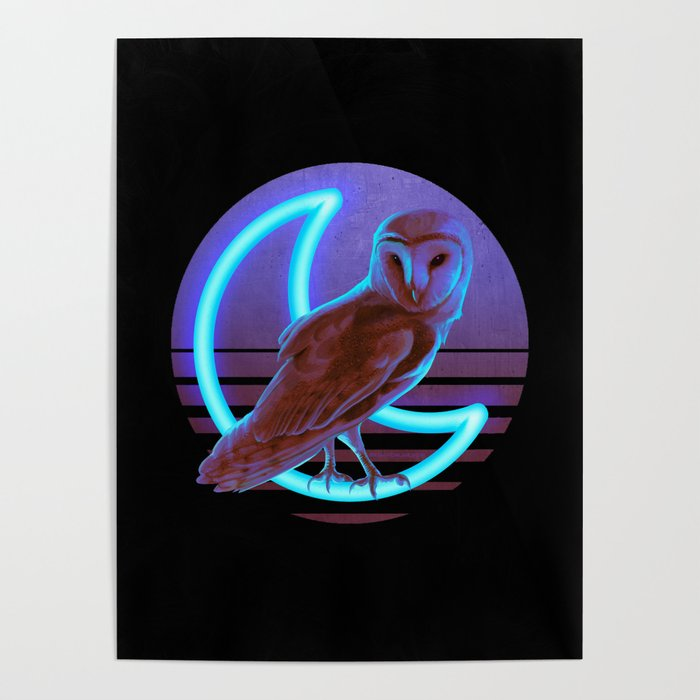 Night Owl Keepers curates Night Owl Poster by eranfowler at Society 6