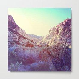 Purple Red Rock Canyon Metal Print
