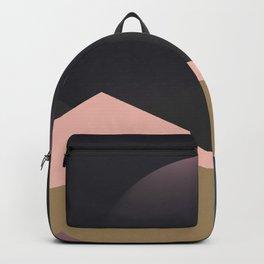 faded landscape Backpack