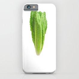 Veggie Please Romaine Calm Lettuce iPhone Case