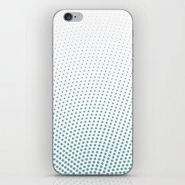 Intensive phobia: Blue iPhone Skin