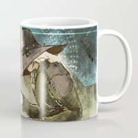 """dragon age inquisition Mugs featuring Dragon Age Inquisition - Cole - Charity by Barbara """"Yuhime"""" Wyrowińska"""