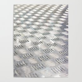 Floor metal surface Poster
