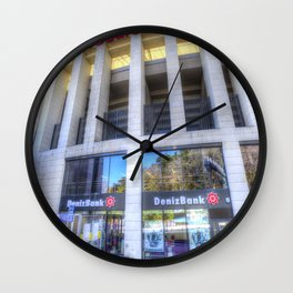 Besiktas JK Stadium Istanbul Wall Clock