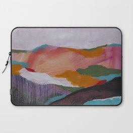 Roses Aren't Red 3 - Contemporary Abstract Landscape Laptop Sleeve