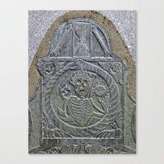 Epic Tombstone Canvas Print