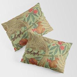 Bird And Pomegranate Wallpaper Design Pillow Sham