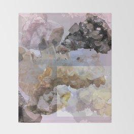 Crystal Pattern 1 Throw Blanket