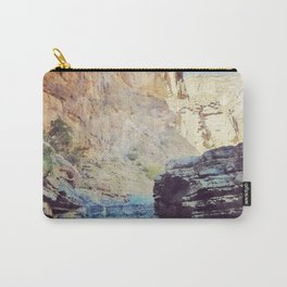 Digital Watercolor Wadi Carry-All Pouch