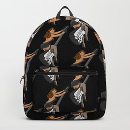 Guitar Pinup Girl Backpack
