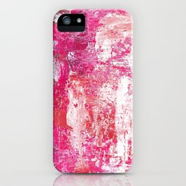 Roses Play Color On Ice iPhone Case