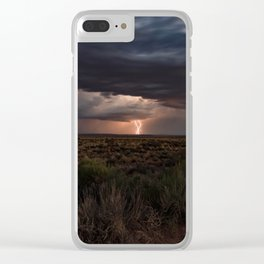 American west Clear iPhone Case