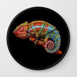 Chameleon 3 Wall Clock
