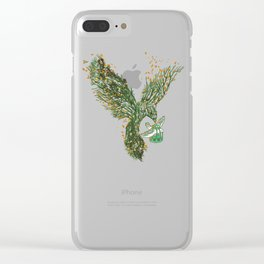 The Journey Begins Clear iPhone Case