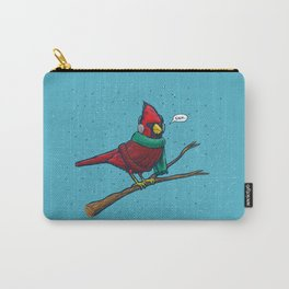 Annoyed IL Birds: The Cardinal Carry-All Pouch