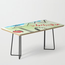 City scape - Seattle, Washington Coffee Table