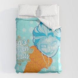 Elsa's Frozen Treats Comforters