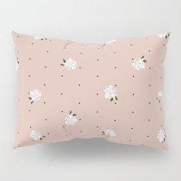 Gardenia pattern pink Pillow Sham