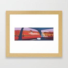 Plotting To Kill Your Friends Framed Art Print