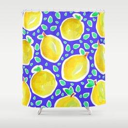 Lemon Crush 3 Shower Curtain