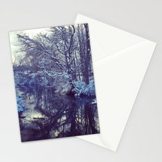 Blue Ice Stationery Cards