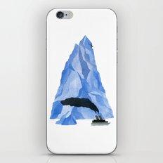 The Living Iceberg iPhone Skin