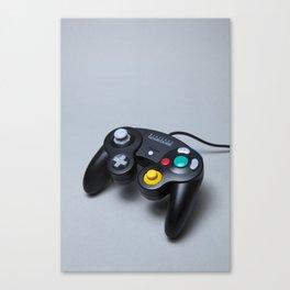 Nintendo GameCube controller Canvas Print