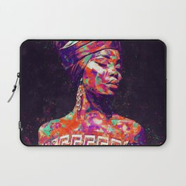 African Woman Laptop Sleeve