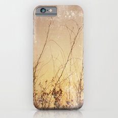 sea plants (gold) iPhone 6s Slim Case