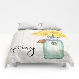 Daffodils Comforters