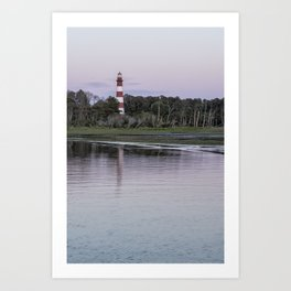 Assateague Lighthouse - portrait Art Print