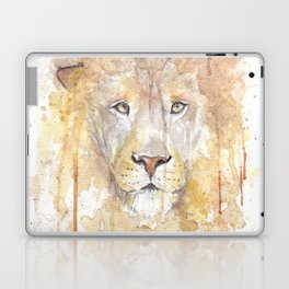 "Watercolor Painting of Picture ""African Lion"" Laptop & iPad Skin"