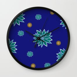 Happy Hippie Revision 4 Large Wall Clock