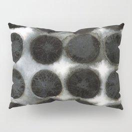 WATERCOLOUR DISCS: Black Spinel Pillow Sham