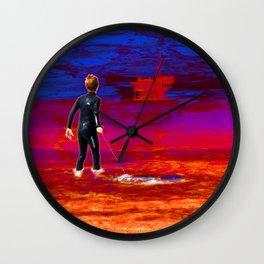 Toxic Boogie Wall Clock