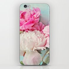 3 peonies iPhone & iPod Skin