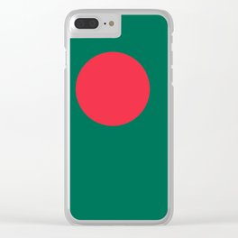 Flag of Bangladesh, High Quality Image Clear iPhone Case